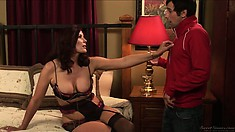 MILF Magdalene St. Michaels fucked hard by a tasty young cock