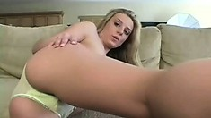 Chelsea puts on a sexy show in her panties for her webcam audience