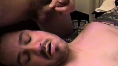 Three horny gay studs hook up on the bed and bring their sexual fantasies to life